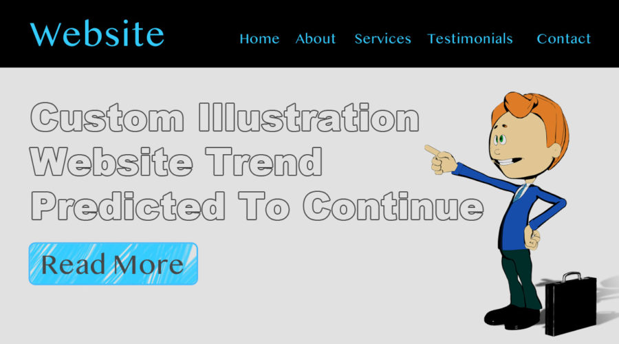 Custom Illustration Website Trend Predicted To Continue
