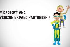 Microsoft And Verizon Expand Partnership